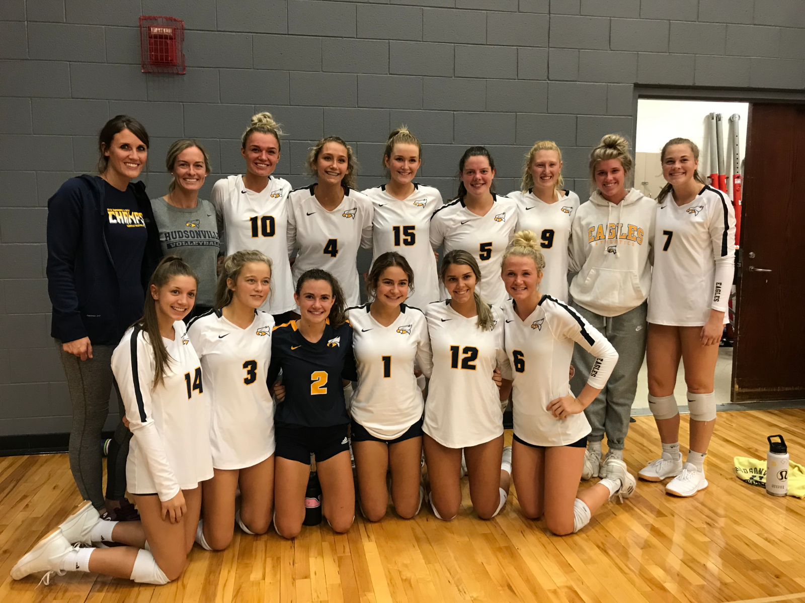 Varsity Volleyball Wins Tournament