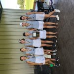 Girls Varsity Golf takes 2nd at Greenville Tourney