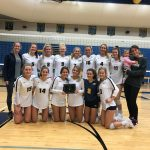 Varsity Volleyball Win's Home Tournament
