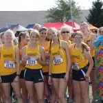 Girl's Cross Country Perform Well at Portage