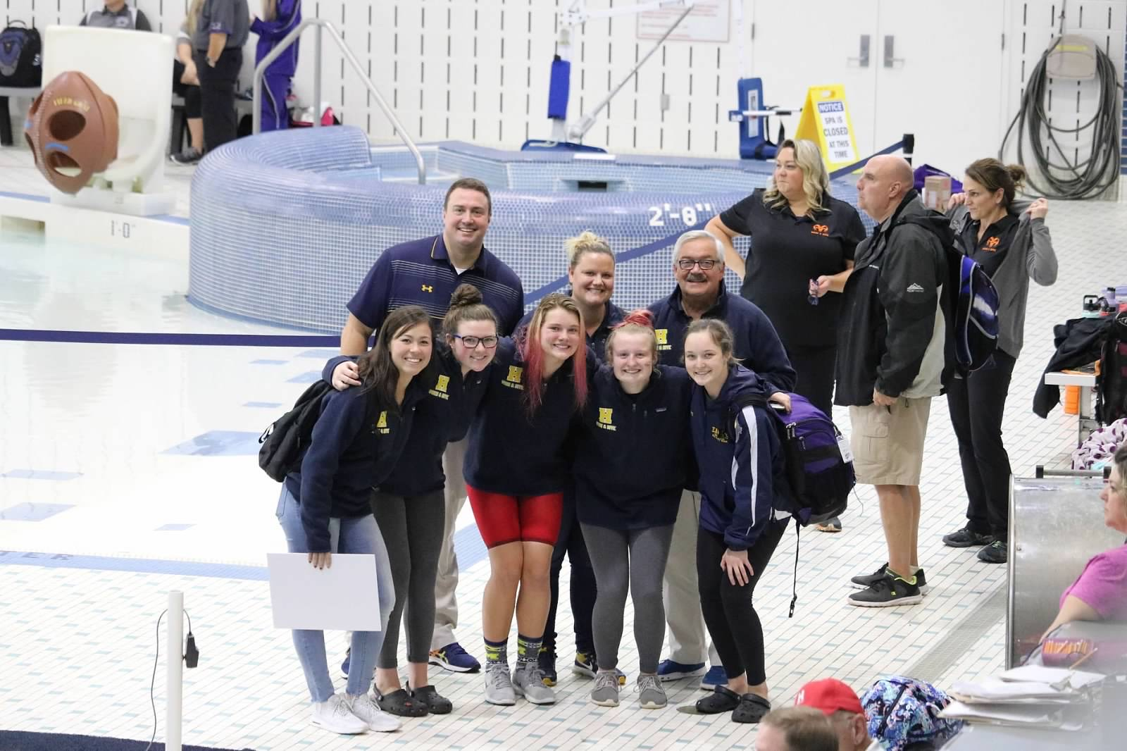 Hudsonville Swim and Dive Finish 10th in the State – Claire Tuttle Named Swimmer of the Year