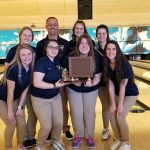 Girls Varsity Bowling wins Post Conf. and become Conference Champs