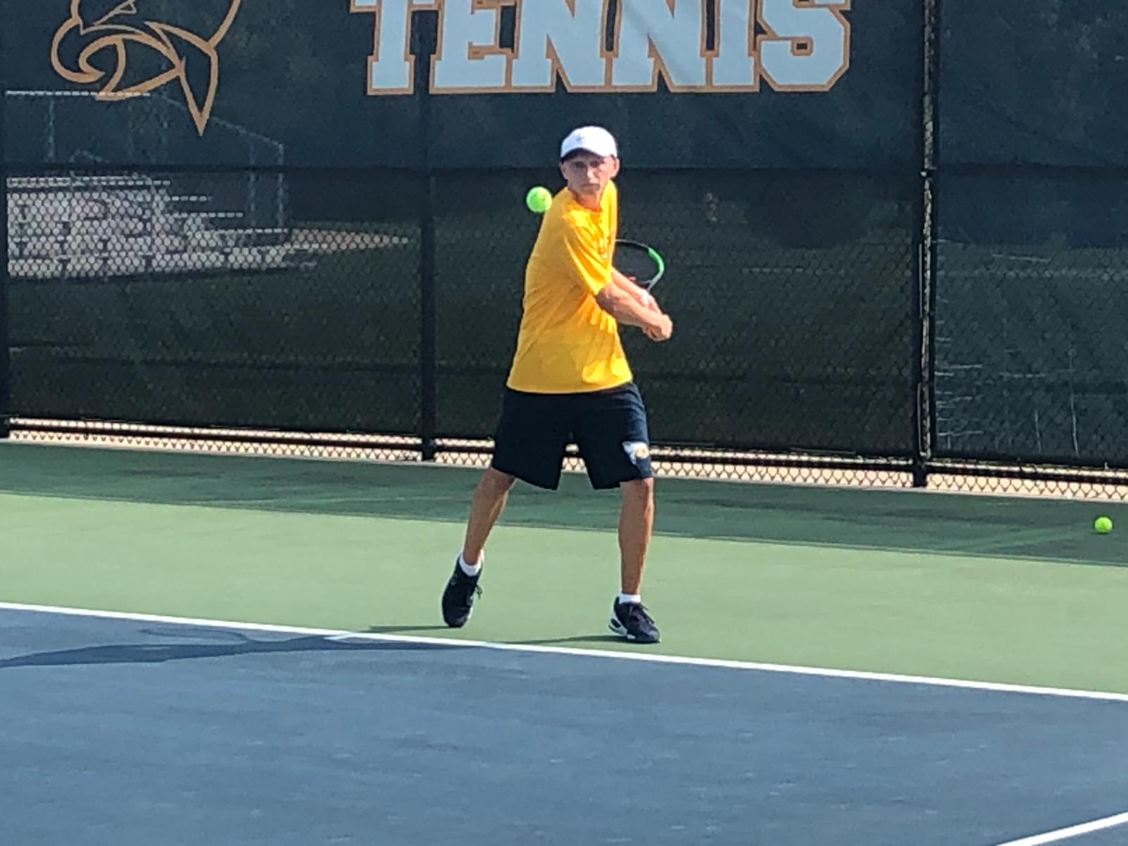 Hudsonville Fights Off Caledonia 8-1 in Varsity Tennis
