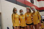 Varsity volleyball finishes season 22-10