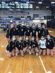 Varsity volleyball wins Mona Shores quad