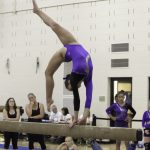 Gymnastics places 3rd at the Loveland Invitational