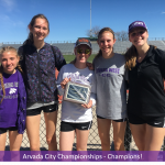 Arvada City Track & Field Championships – Girls Take First!