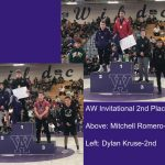 Boys Varsity Wrestling finishes 13th place at Invitational @ Arvada West High School