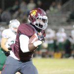 Valley Christian High School Varsity Football beat Templeton High School 77-54