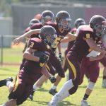 Valley Christian High School Junior Varsity Football beat St. Margarets Episcopal 21-0