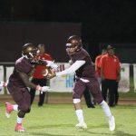 Valley Christian/Cerritos Varsity Football beat Whittier Christian High School 63-34
