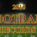 2016 Football Records