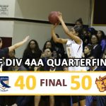 Valley Christian/Cerritos Girls Varsity Basketball beat California – CIF Quarter Final 50-40