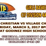 Girls Basketball CIF Finals