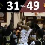 Valley Christian/Cerritos Girls Varsity Basketball beat Knight – State Round 1 49-31