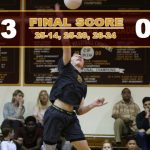 Valley Christian/Cerritos Boys Varsity Volleyball beat Whittier Christian High School 3-0
