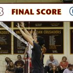 Valley Christian/Cerritos Boys Varsity Volleyball beat Cantwell-Sacred Heart Of Mary High School 3-0