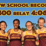 Girls 4×400 Breaks Own Record