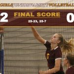 Girls JV Volleyball Defeats Mayfair
