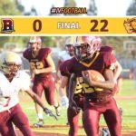 JV Football Defeats Bellflower