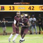 Varsity Football Defeats Bellflower