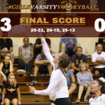 Girls Varsity Volleyball Defeats Sultana
