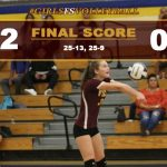 Girls FS Volleyball Defeats Cal