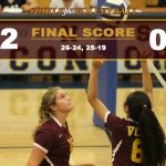Girls JV Volleyball Defeats Cal
