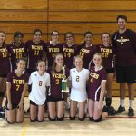Girls FS Volleyball Finishes 2nd