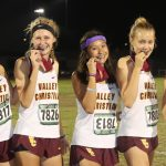 Girls Cross Country Medal Winners