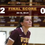 Girls FS Volleyball Defeats Downey