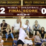Girls JV Volleyball Defeats Downey