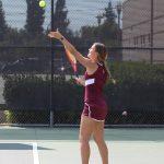 Girls Varsity Tennis vs Rosary 9/14/17