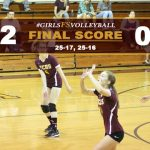 Girls FS Volleyball Defeats Village Christian