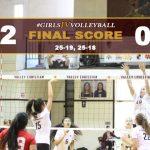 Girls JV Volleyball Defeats Village Christian