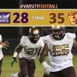 Varsity Football Defeats St. Anthony