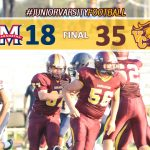 JV Football Defeats Maranatha