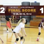 Girls FS Volleyball Defeats Whittier Christian