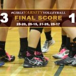 Girls Varsity Volleyball Defeats Whittier Christian