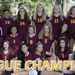 Girls JV Volleyball League Champions