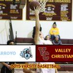 Boys Varsity Basketball Defeats Arroyo
