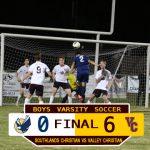 Boys Varsity Soccer Defeats Southlands Christian