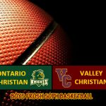 Boys FS Basketball Defeats Ontario Christian