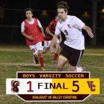 Boys Varsity Soccer Defeats Shalhevet