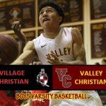 Boys Varsity Basketball Defeats Village Christian