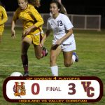 Girls Soccer Advances to 2nd Round
