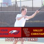 Boys Tennis Defeats John Glenn