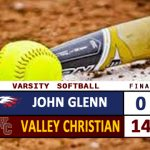 Varsity Softball Defeats Glenn 14-0