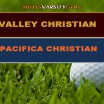 Boys Varsity Golf Defeats Pacifica Christian