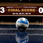 Boys Varsity Volleyball Defeats Village Christian